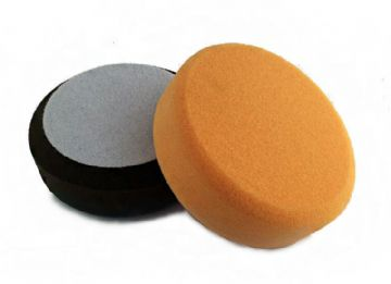 2 x Foam Buffing pad kit, Polishing heads, Velcro back 150mm diameter